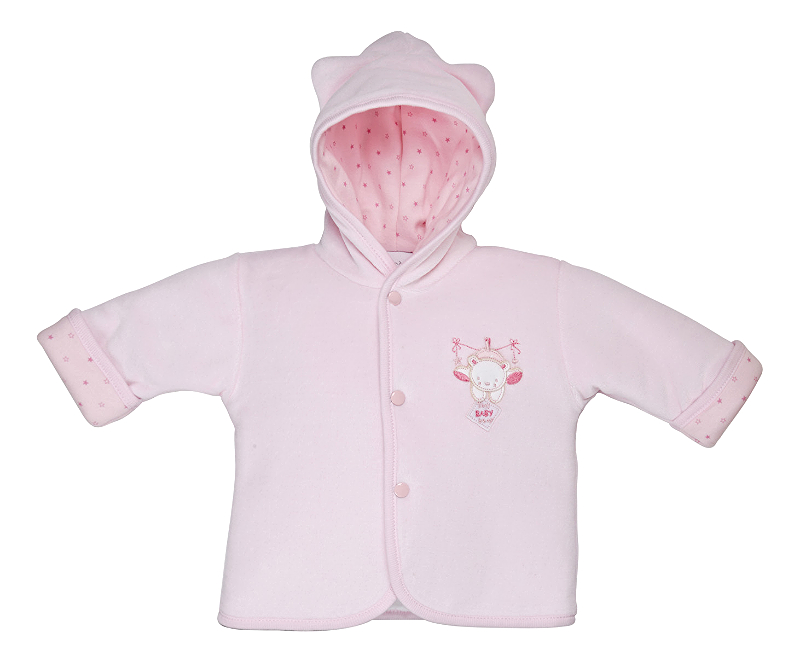 AV1871 Tiny baby bear Jacket pink